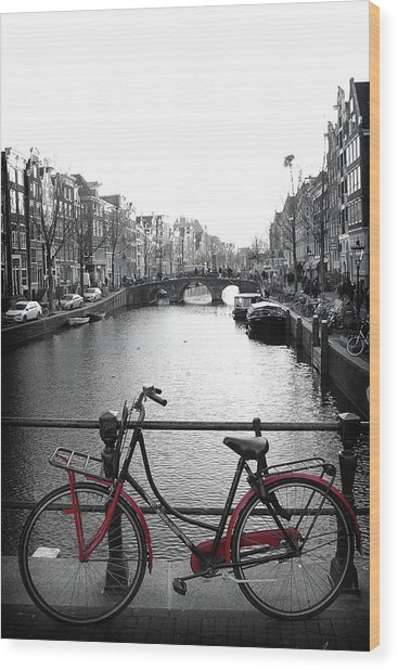 Wood Print featuring the photograph Bicycle 2 by Scott Hovind