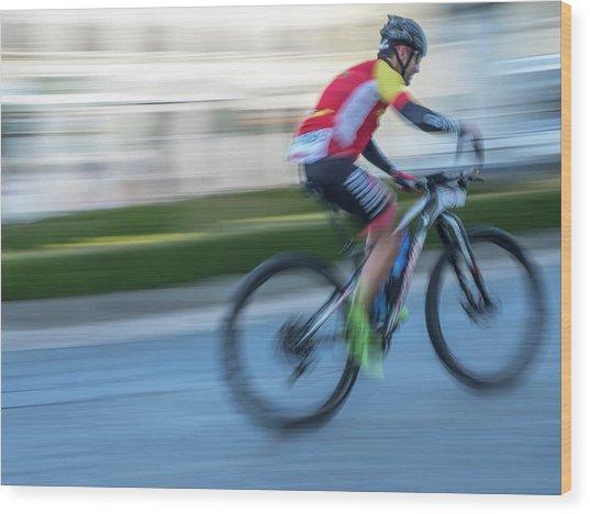 Bicycle Race Wood Print