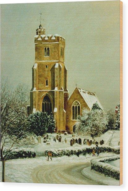 Biddenden Church Wood Print