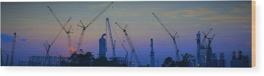 Big Boy Erector Set Wood Print