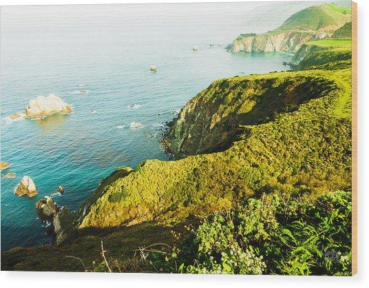 Big Sur-2 Wood Print