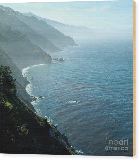 Big Sur Majesty Wood Print