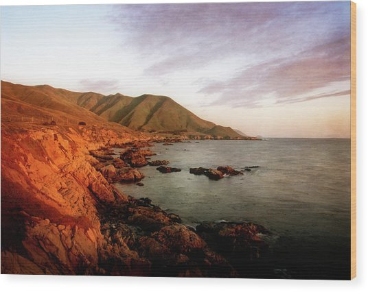Wood Print featuring the photograph Big Sur by Scott Kemper