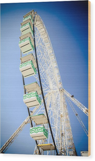 Wood Print featuring the photograph Big Wheel by Jason Smith