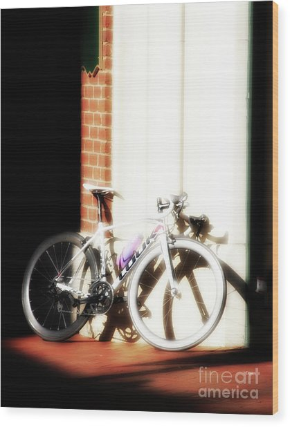 Bike Sugar  Wood Print by Steven Digman