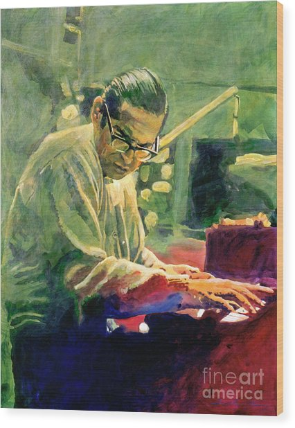 Bill Evans Quintessence Wood Print