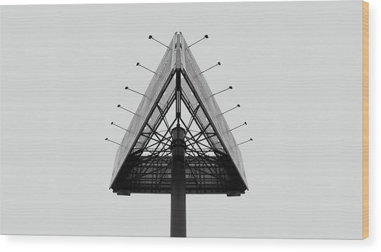 Billboard Wood Print by Vis  Felavis