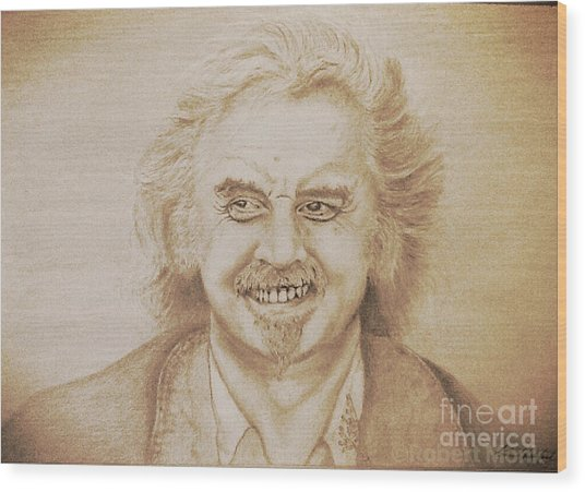 Billy Connolly Wood Print