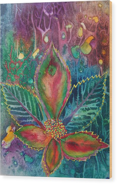 Bindhi Wood Print