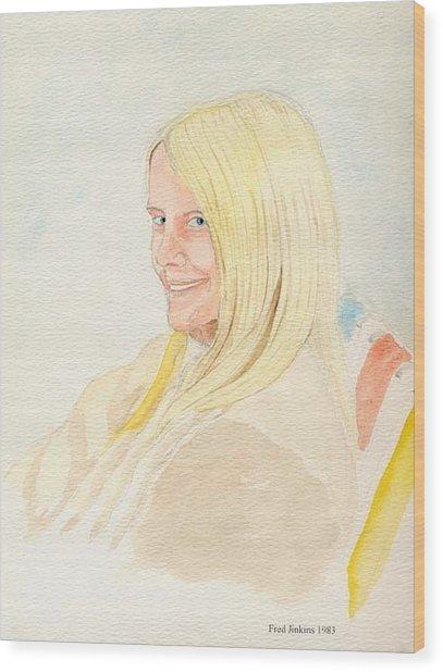 Birdie 1983 Wood Print