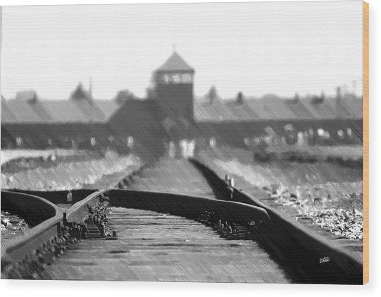 Birkenau / Auschwitz Railhead - Pol402324 Wood Print