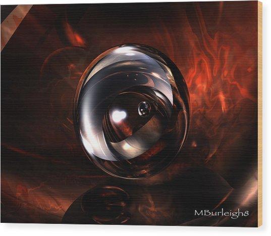 Birth Pearl Wood Print by Michael Burleigh