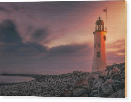 Bittersweet Scituate Light Wood Print