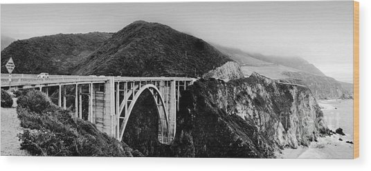 Bixby Bridge - Big Sur - California Wood Print