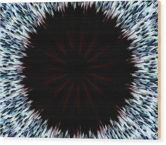 Black Hole Wood Print by Bethwyn Mills