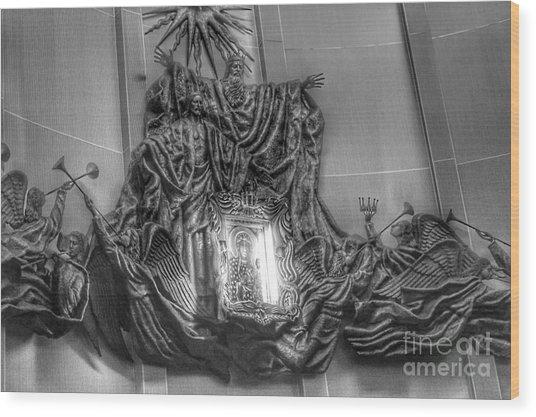 Black Madonna Of Czestochowa, Doylestown Wood Print