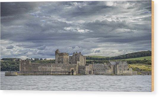 Blackness Castle Wood Print