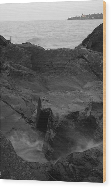 Wood Print featuring the photograph Blackrock Lighthouse by Dylan Punke