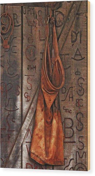 Blacksmith Apron Wood Print