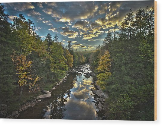 Blackwater River Wood Print