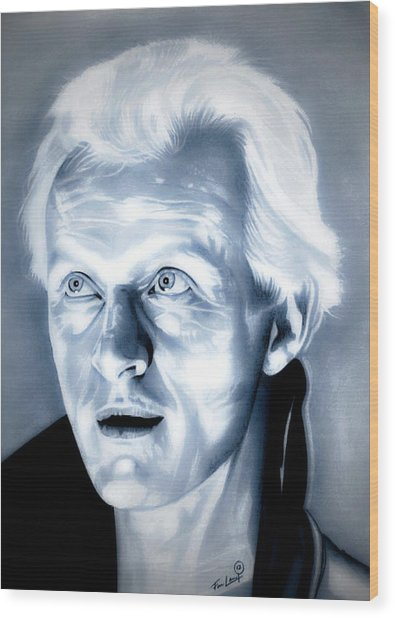Blade Runner Roy Batty Wood Print