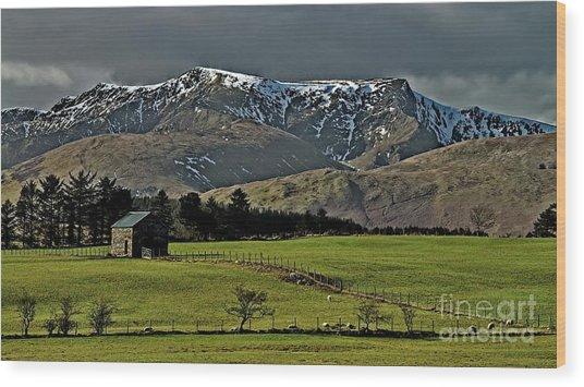 Blencathra Mountain, Lake District Wood Print