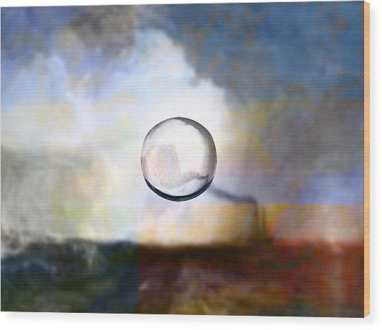 Blend 8 Turner Wood Print