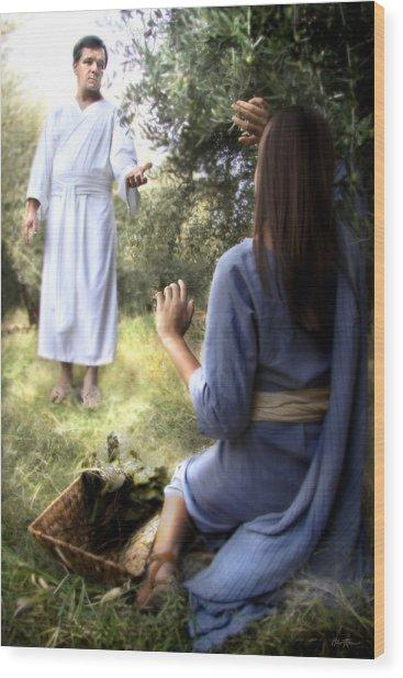 Blessed Art Thou Among Women Wood Print