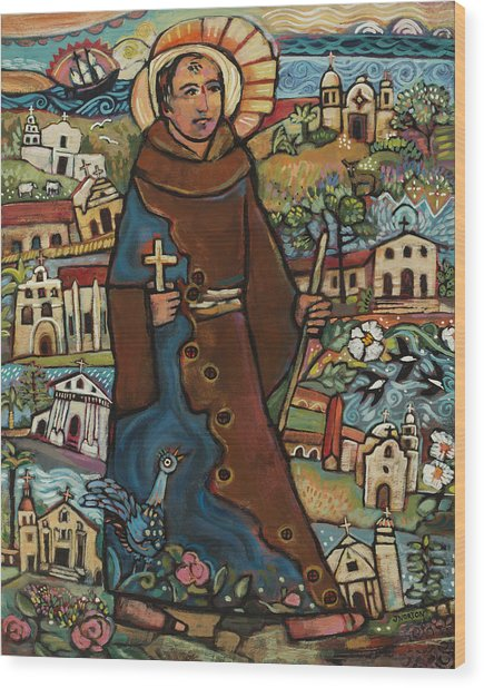 Blessed Junipero Serra Wood Print