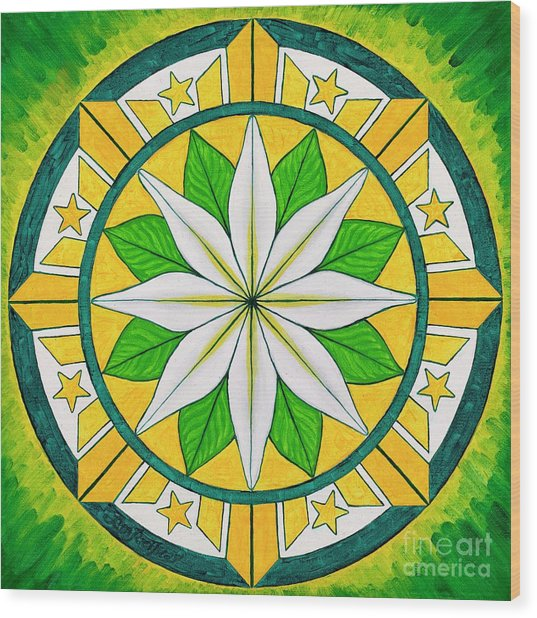 Blessings Of Kapayapaan/bendiciones De La Paz Wood Print