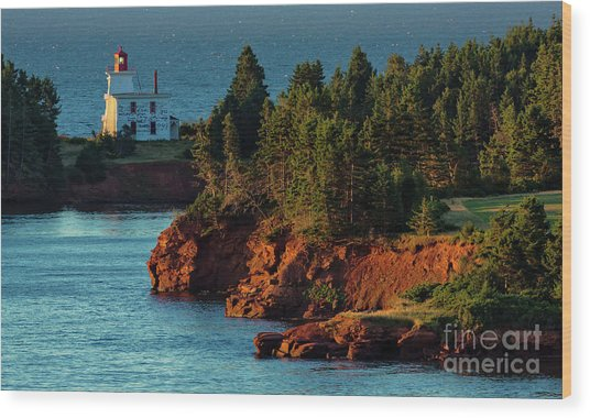 Blockhouse Point Lighthouse Wood Print