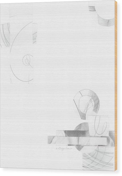 Bloom No. 3 Wood Print