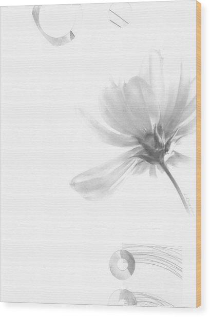 Bloom No. 5 Wood Print