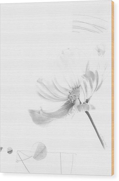Bloom No. 8 Wood Print