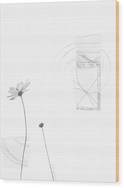 Bloom No. 10 Wood Print