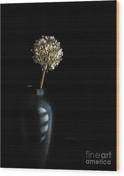 Blooming Onion Wood Print