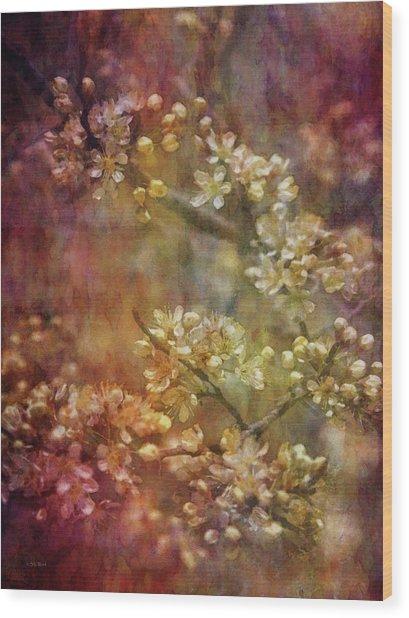 Blossoms 9664 Idp_2 Wood Print