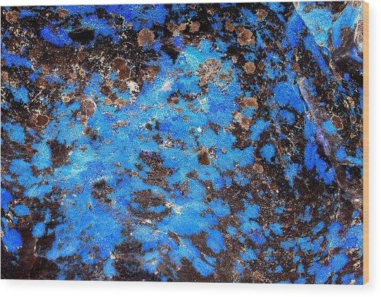 Blue Afternoon Wood Print
