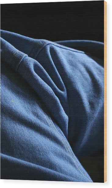 Blue Jeans 0261 Wood Print