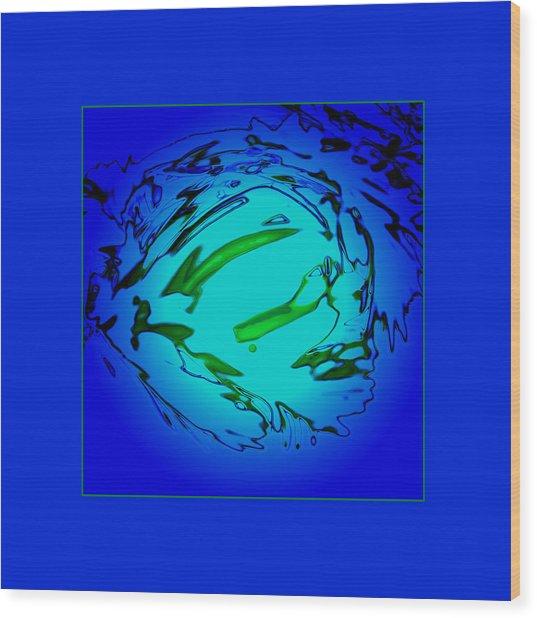 Blue Lagoon Wood Print by Roy Lewis