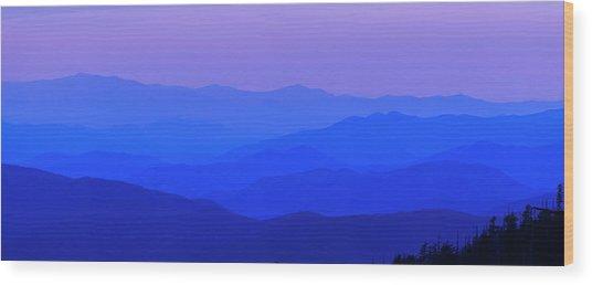 Blue Ridge Spring 08 Wood Print