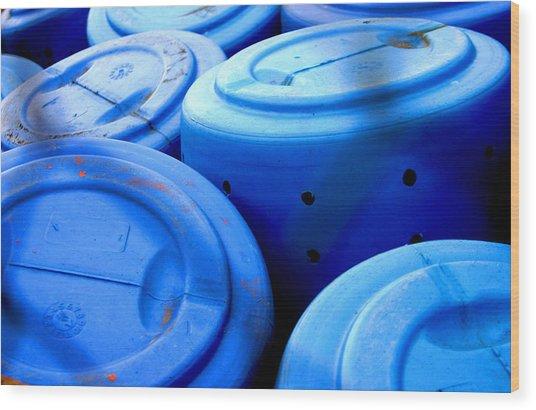 Bluebarreled Wood Print by Jez C Self
