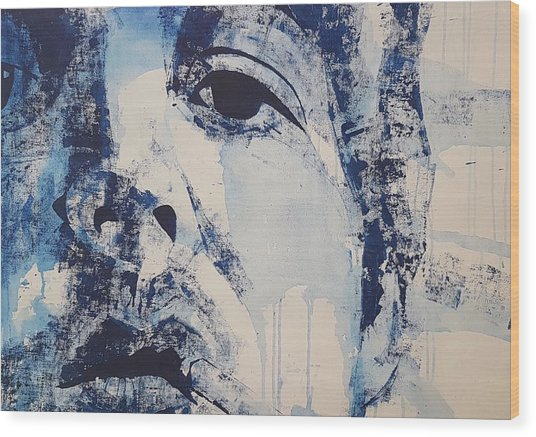 Bluebird - Paul Mccartney Wood Print