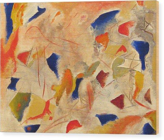 Blues Wood Print by Vladimir Kezerashvili