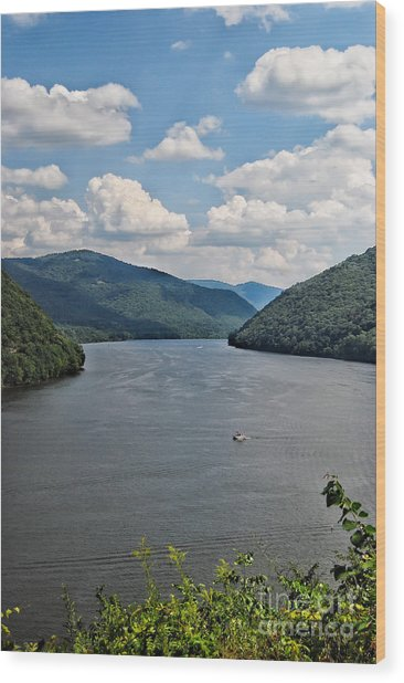 Bluestone Lake - Hinton West Virginia Wood Print