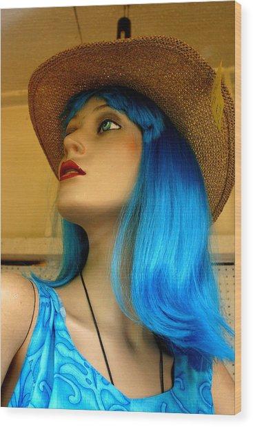 Bluewn Away Wood Print by Jez C Self