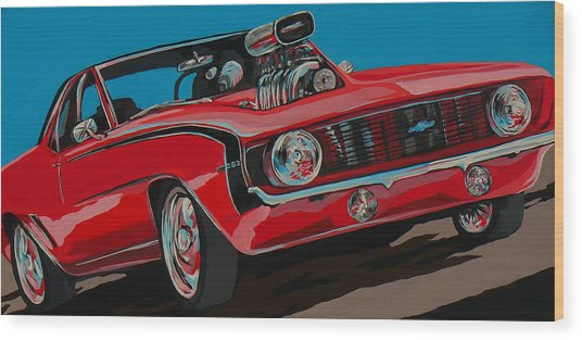 Blwn6t9 Wood Print