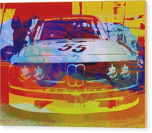 Bmw Racing Wood Print