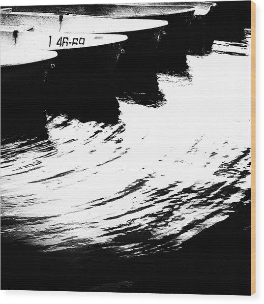 Boat #1 4669 Wood Print