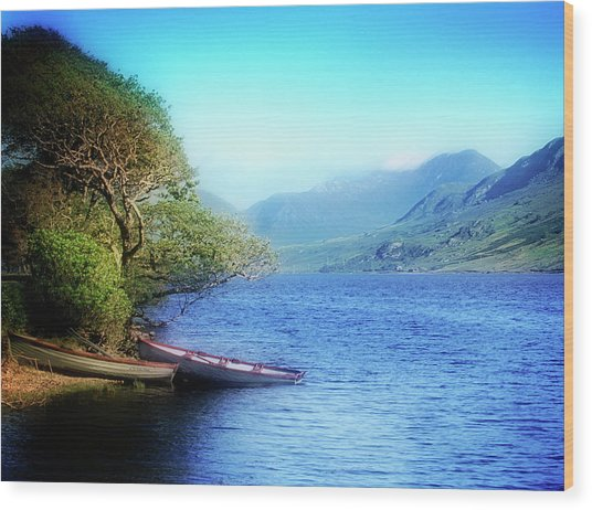 Wood Print featuring the photograph Boats At Rest by Scott Kemper
